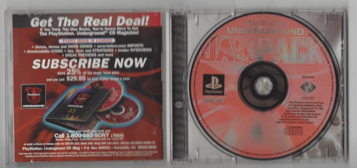 Playstation Underground Jampack Winter 98 - Playstation (PS1)