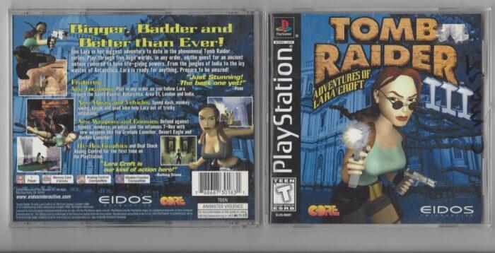 Tomb Raider 3 - Playstation (PS1)