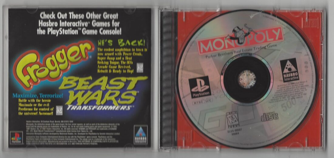 Monopoly - Playstation (PS1)