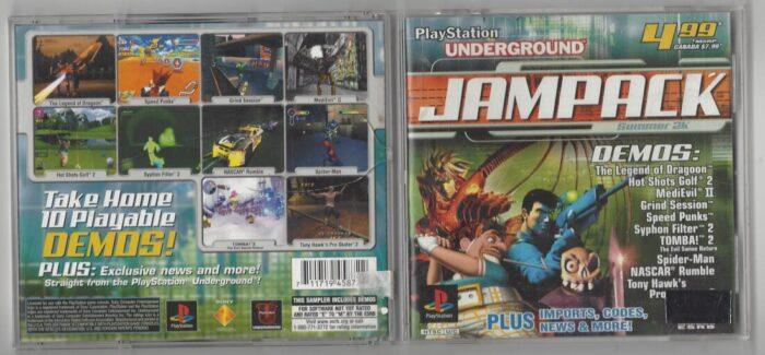 Playstation Underground Jampack Summer 2K - Playstation (PS1)