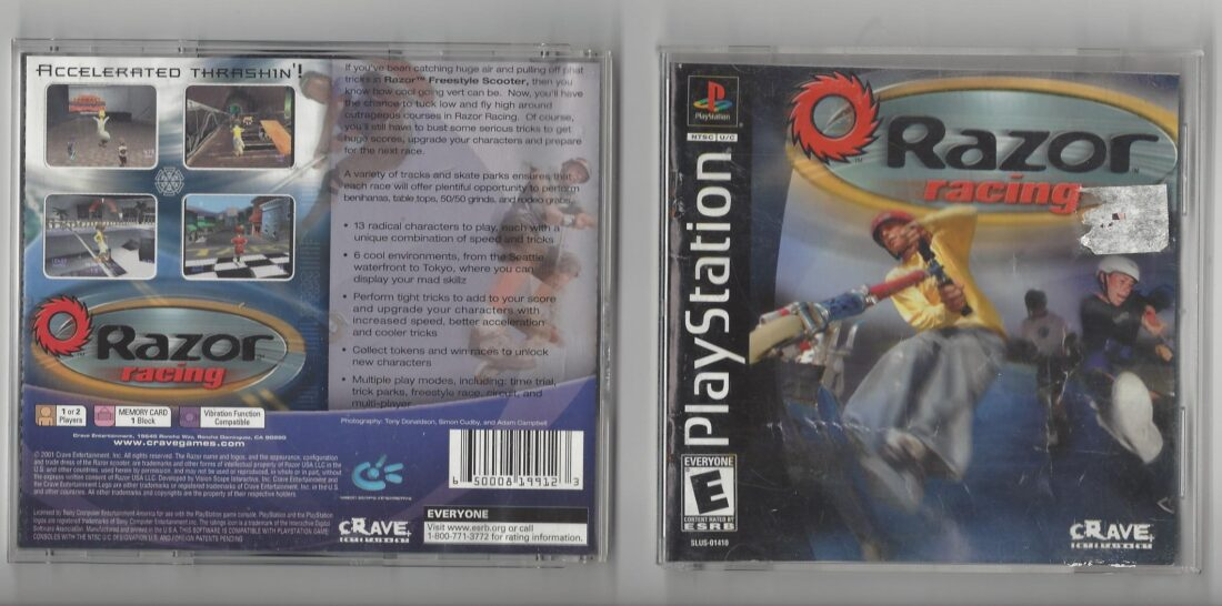 Razor Racing - Playstation (PS1)