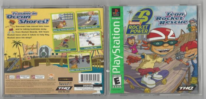 Rocket Power : Team Rocket Rescue Greatest Hits- Playstation (PS1)