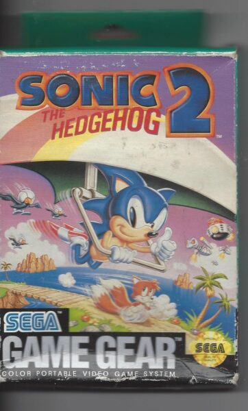 Sonic the Hedgehog 2 - Game Gear (GG)