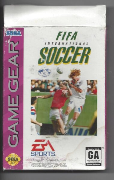 FIFA International Soccer - Game Gear (GG)