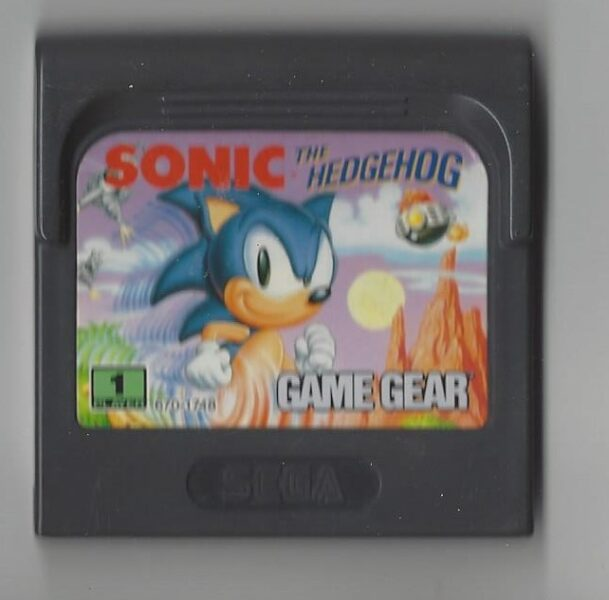Sonic the Hedgehog - Game Gear (GG)