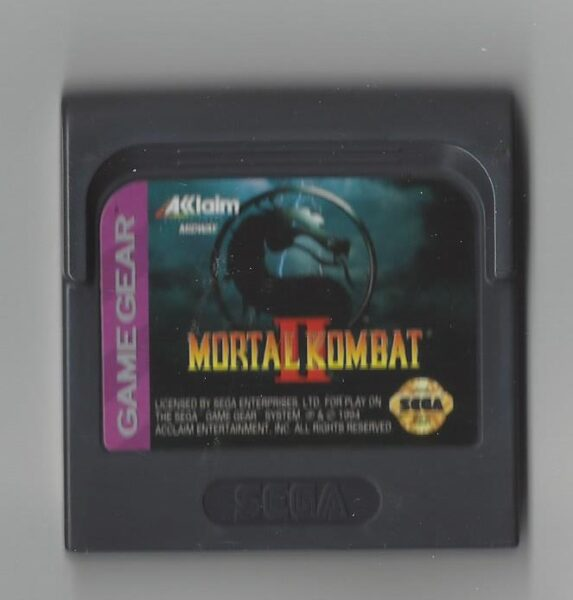 Mortal Kombat 2 II - Game Gear (GG)