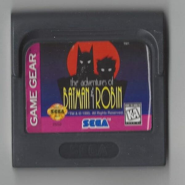 The Adventures of Batman & Robin - Game Gear (GG)