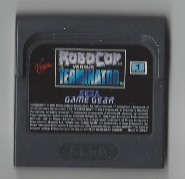 Robocop Versus The Terminator - Game Gear (GG)