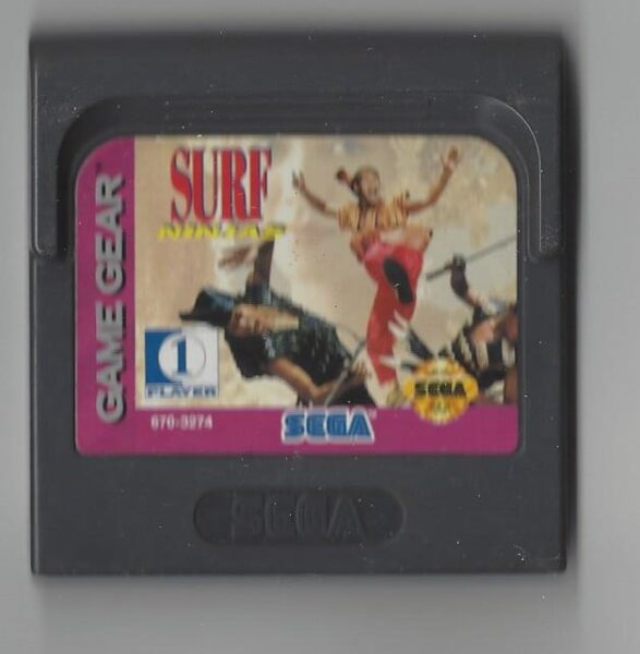 Surf Ninjas - Game Gear (GG)