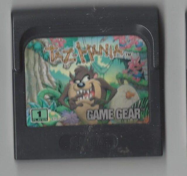 Taz Mania - Game Gear (GG)