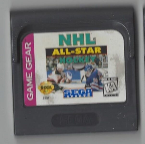 NHL All Star Hockey - Game Gear (GG)