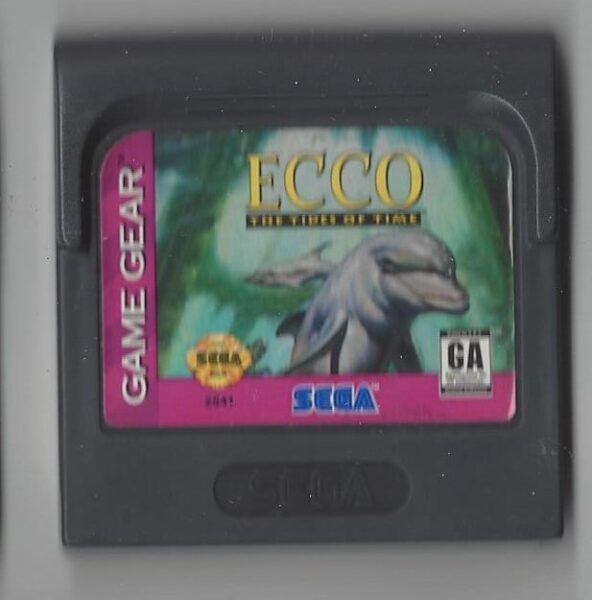 Ecco the tides of time - Game Gear (GG)