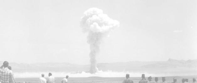 nevada test site nuclear explosion