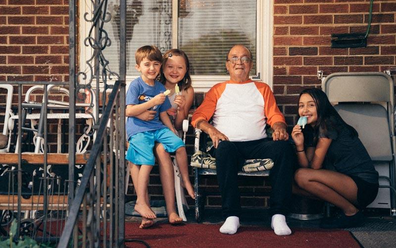 Ruben G with family