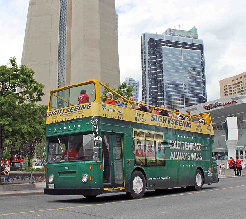 OLG Slots Bus Wrap in Toronto