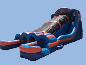 Vertical Dash Inflatable Obstacle Slide Combo wet & Dry