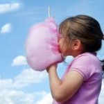 Bounce house + Cotton Candy = AWESOME PARTY