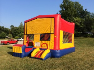 4in1 Combo Bounce House Rental Kansas City 2014!!!!