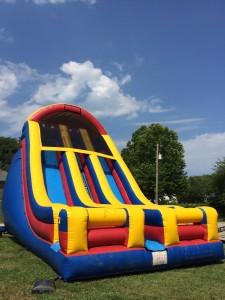 Giant 25' Double Lane Dry Slide Rental in Kansas City!!