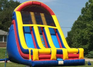 Double Lane 25' Dry Slide Rental