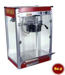 Popcorn Machine Rental 8oz