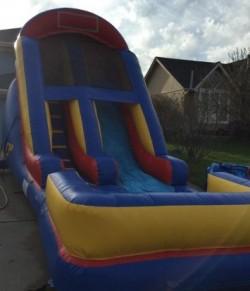 16 wave water slide rental kansas city birthday party rental