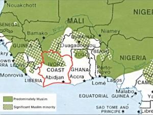 religión en Costa de Marfil