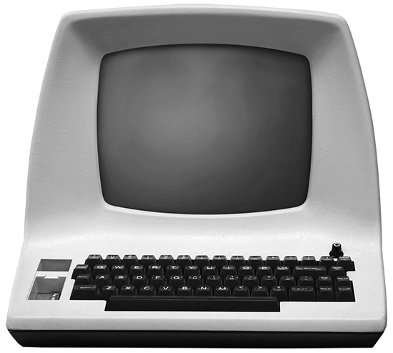 Web Services - Old Fashioned Computer 2