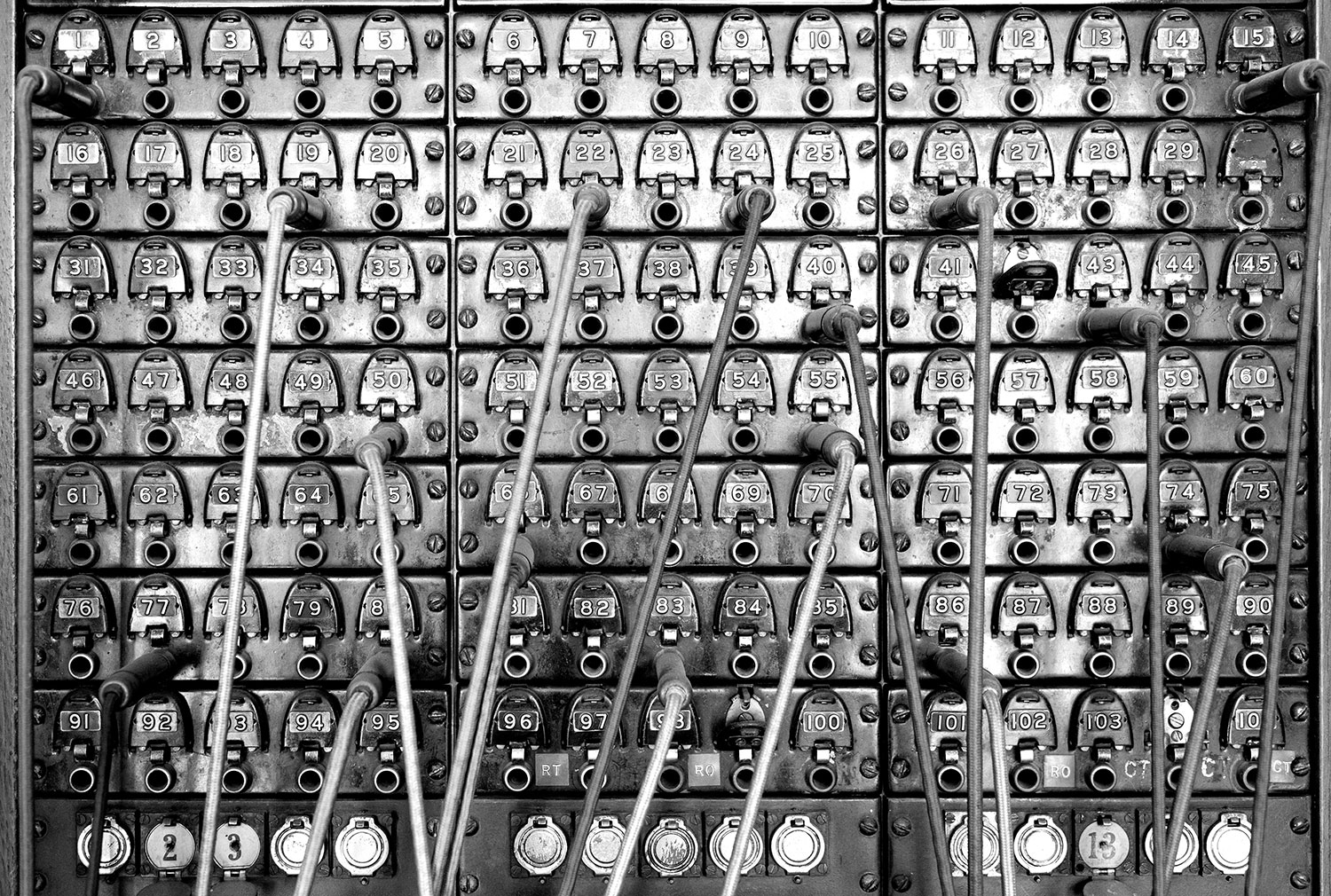 Telemarketing - Old Fashioned Switch Board