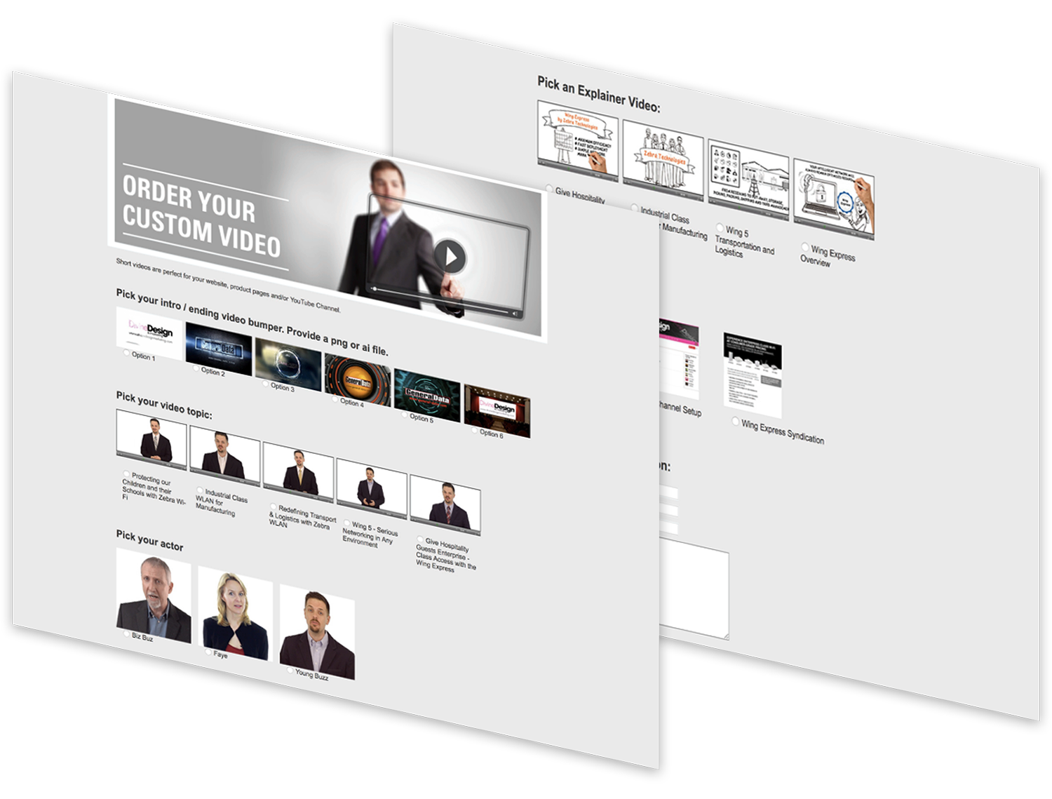 Channel Marketing - Mobility Experts Website