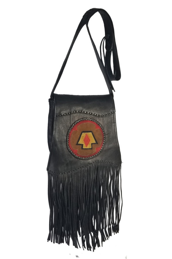 Western leather hand bags