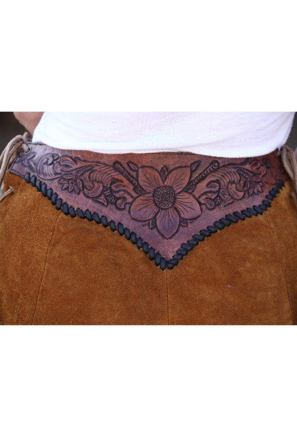 Women hand tooled skirts