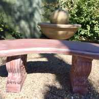 Smooth Curved Bench