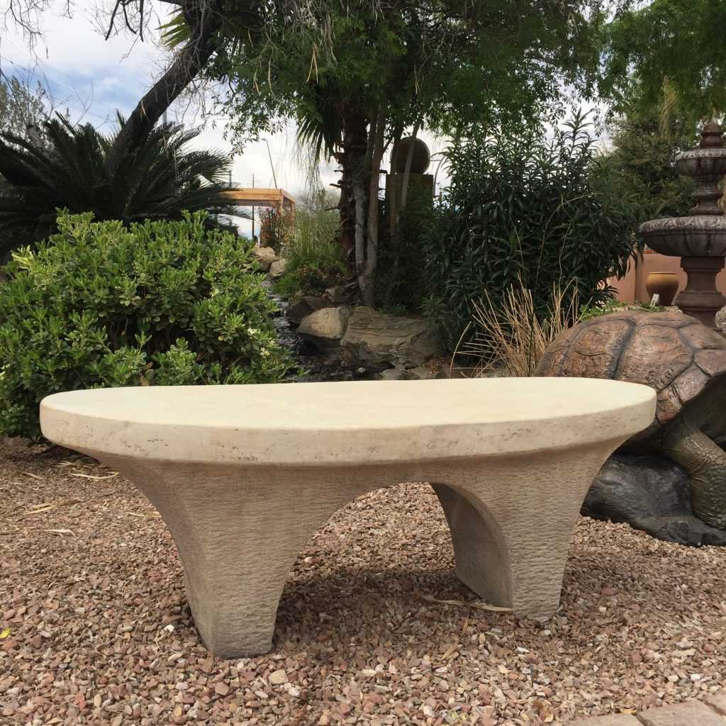 River Stone Bench in SS
