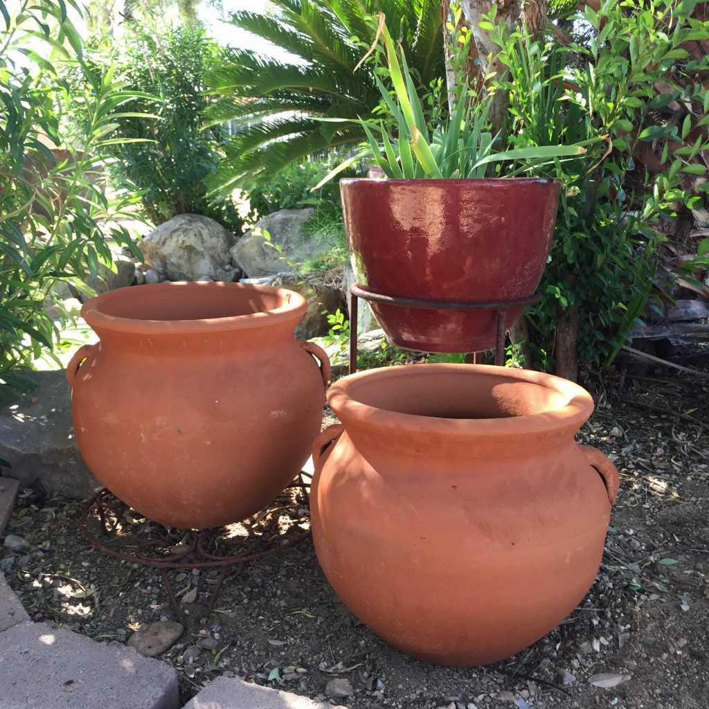 Red Clay Masetone w/ Handles