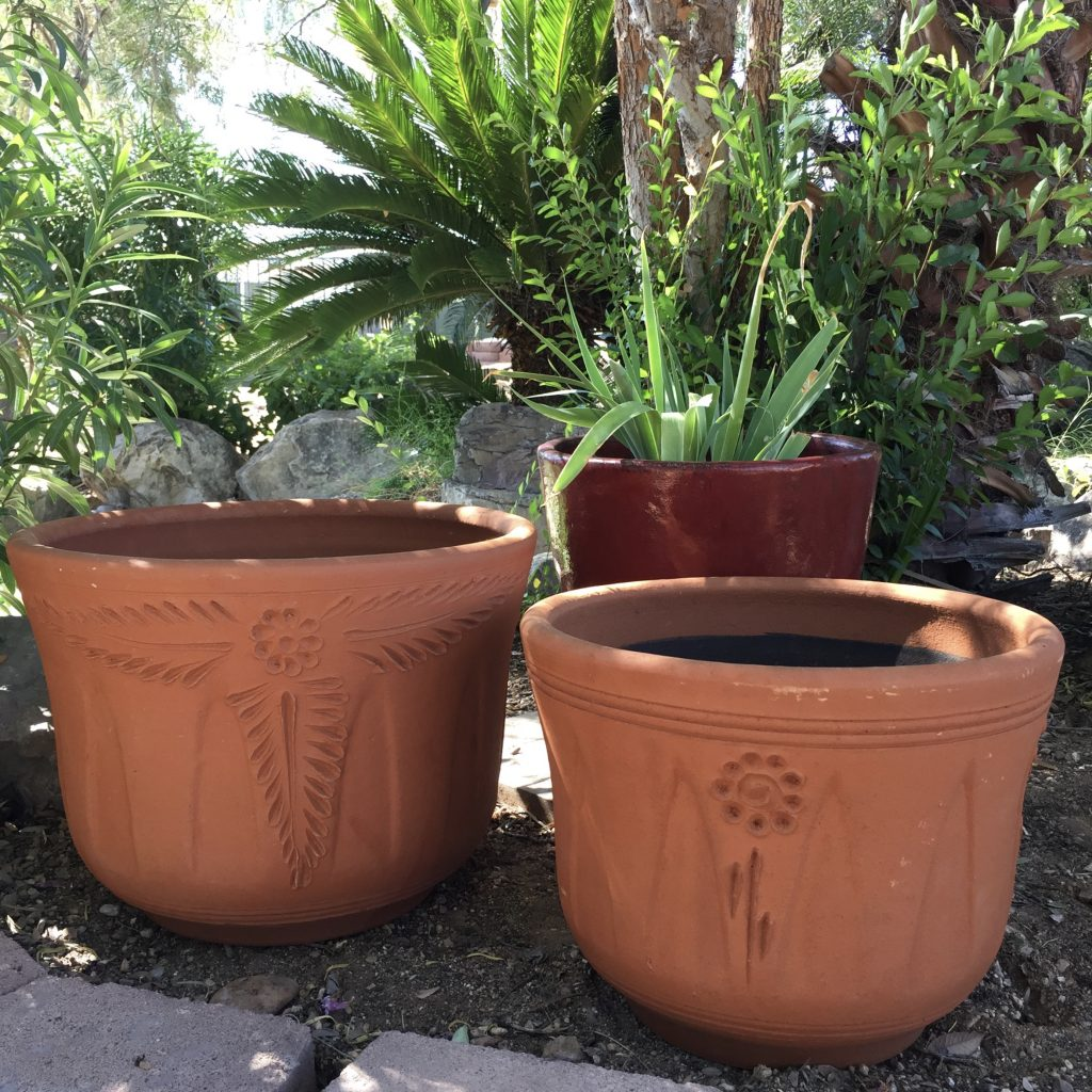 Red Clay Flema Planter