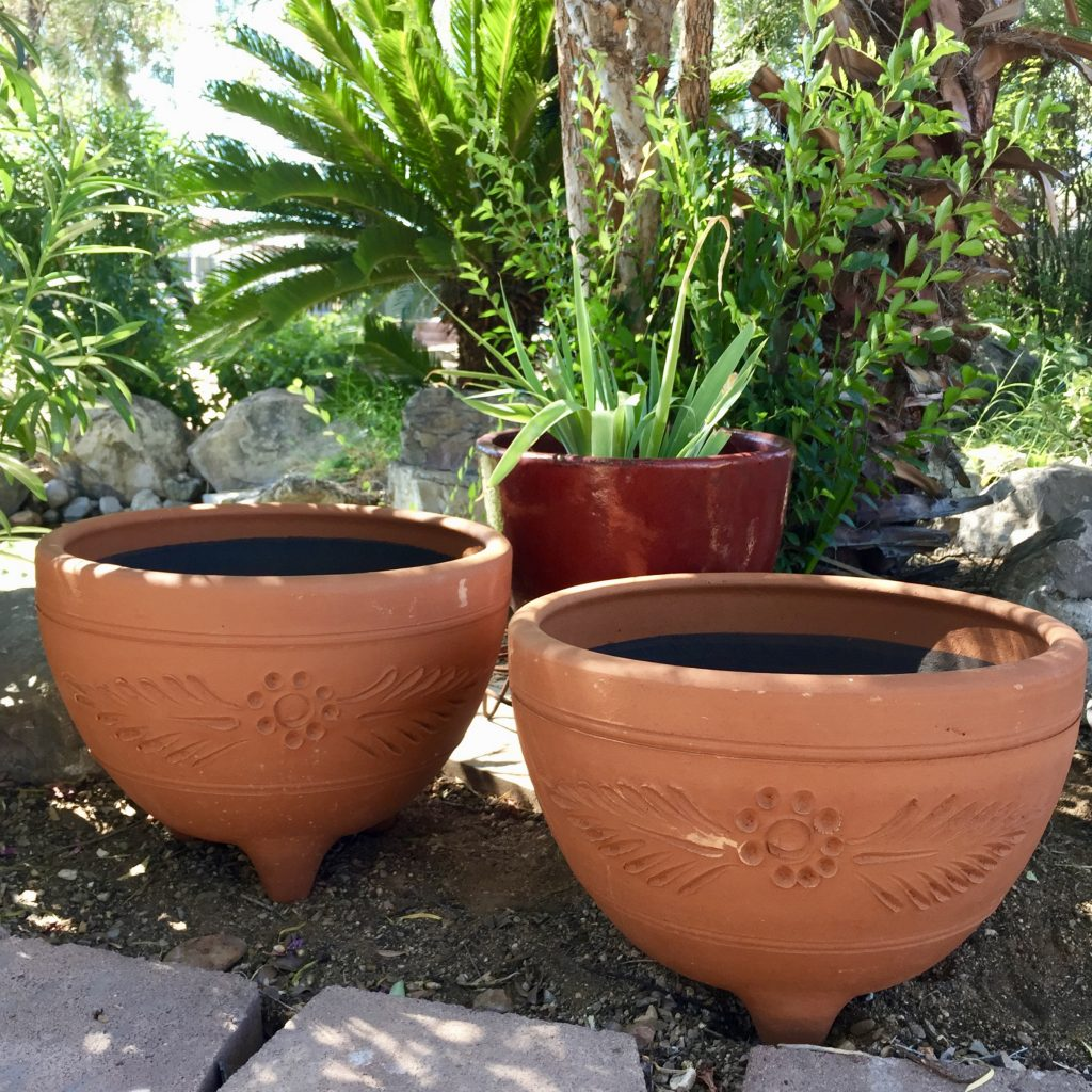 Red Clay Mocajete Planter