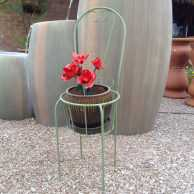 Planter Chair with Basket Seat