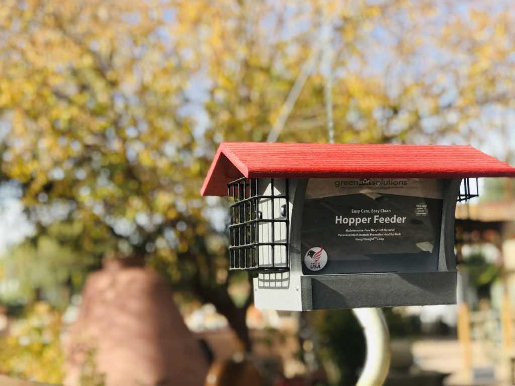 Recycled Bird Feeders