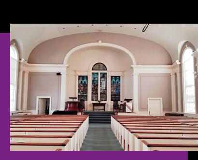 Universalist Church of West Hartford Sanctuary