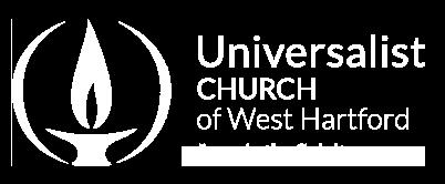 Universalist Church of West Hartford logo in footer