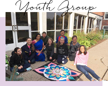 Youth Group at Universalist Church of West Hartford