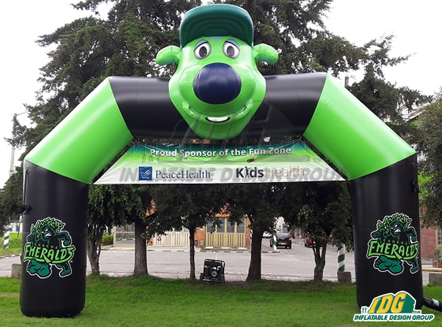 Eugene Emeralds Inflatable Arch