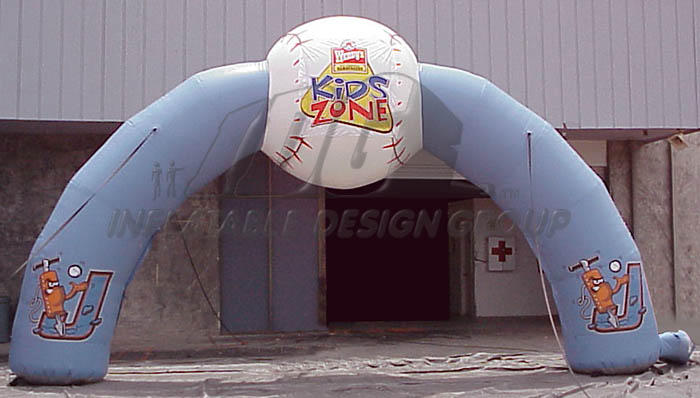 Joilet Jack Hammers Inflatable Arch