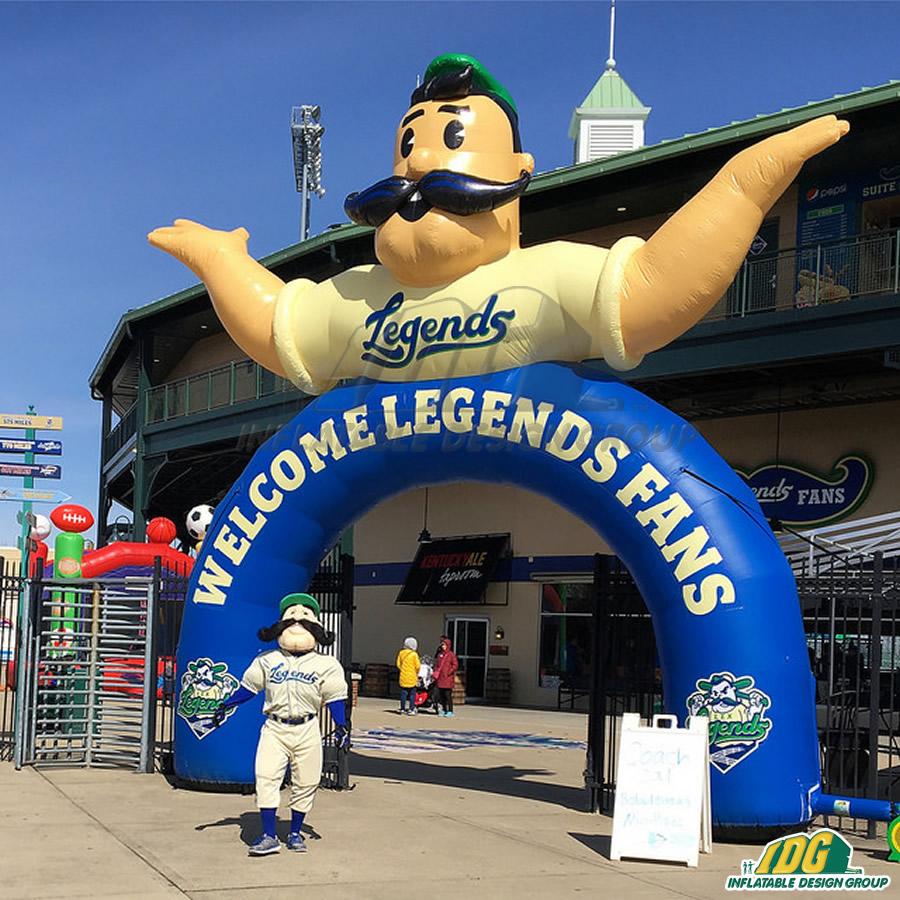 Lexington Legends Inflatable Arch