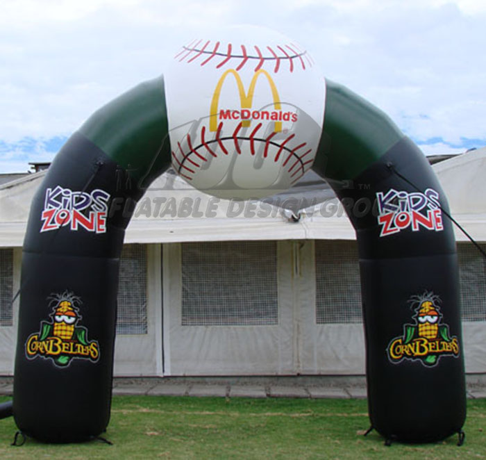Normal Cornbelters Inflatable Arch