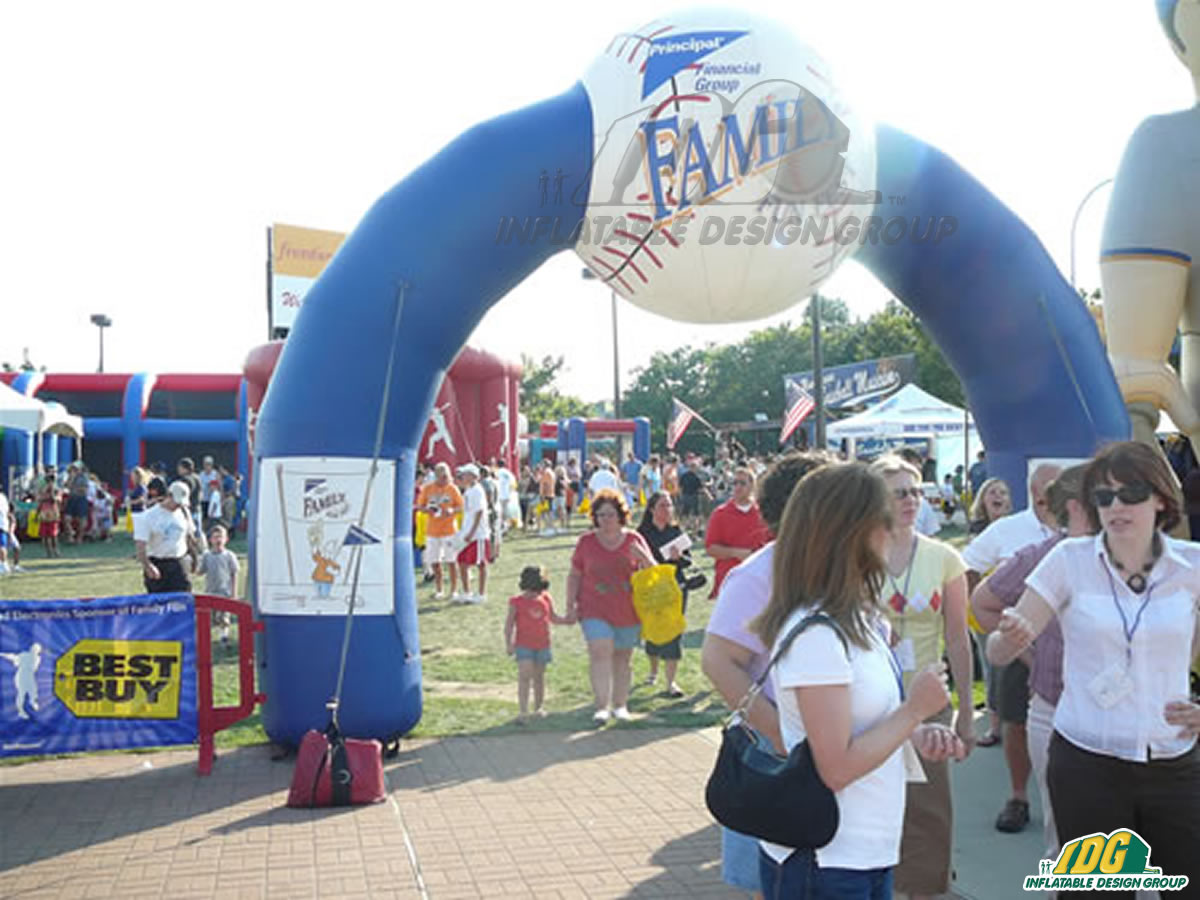 Principal Financial Group Inflatable Arch