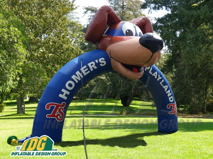 Tennessee Smokies Inflatable Archway