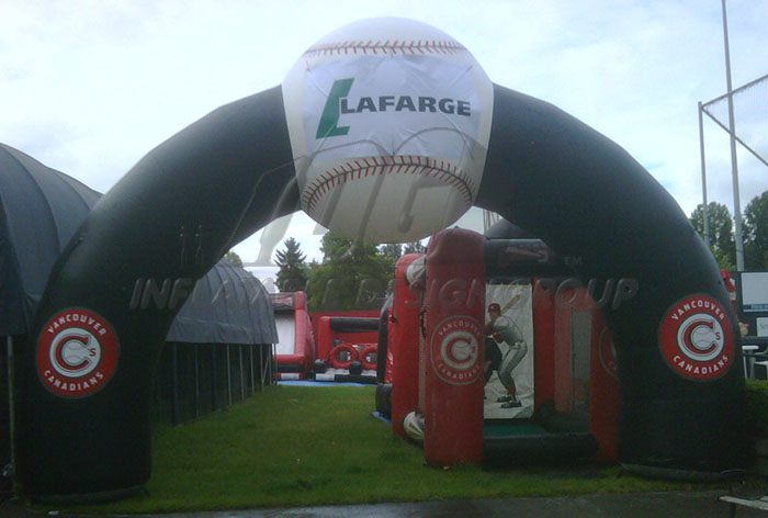 Vancouver Canadians Inflatable Archway