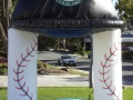 Kane County Cougars Cap Inflatable Arch
